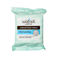 Wotnot Facial Wipes Dry Sensitive Skin 25 Wipes