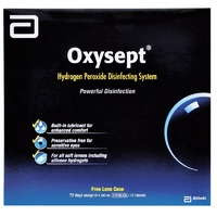 Oxysept Triple Pack 3 x 24mL (72 Tablets)
