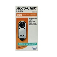 Roche Accu Chek Mobile Blood Glucose Strips (100 Tests)
