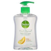 Dettol Parents Approved Anti-bacterial Hand Wash Citrus 250ml