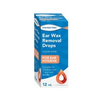 Chemists Own Ear Wax Removal Drops 12ml
