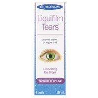 Liquifilm Tears Lubricating Eye Drops 15mL