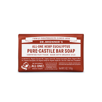 Dr. Bronner's Pure-Castile Bar Soap (All-One Hemp) Eucalyptus 140g