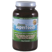MicrOrganics Green Nutritionals Green Superfoods 120g Powder