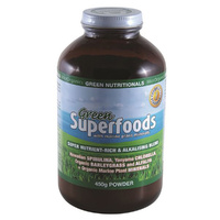 MicrOrganics Green Nutritionals Green Superfoods 450g Powder