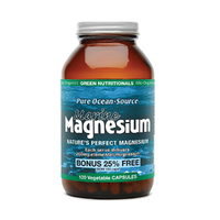 MicrOrganics Green Nutritionals Pure Ocean-Source Marine Magnesium 120 Vegetable Capsules