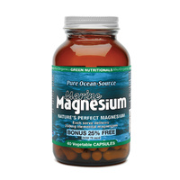 MicrOrganics Green Nutritionals Pure Ocean-Source Marine Magnesium 60 Vegetable Capsules