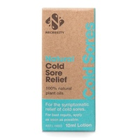 Necessity Natural Cold Sore Relief Lotion 10mL
