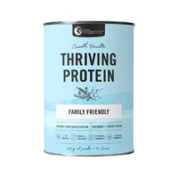 Nutra Organics Thriving Protein Smooth Vanilla (Organic Pea Rice Blend) 450g