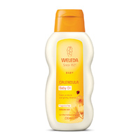 Weleda Baby Oil Calendula Fragrance Free 200ml