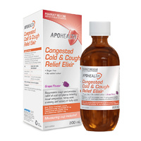 ApoHealth Congested Cold & Cough Relief Elixir 200ml