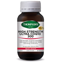 Thompsons High Strength Ultra CoQ10 300 60 Capsules