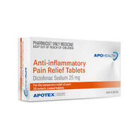 Apohealth Anti-Inflammatory Pain Relief Diclofenac Sodium 25mg Tab 30 (S3)
