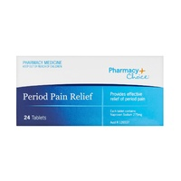 Pharmacy Choice Period Pain Relief Tab 24