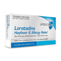 APOHEALTH Loratadine 10mg 30 Tablets