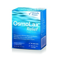Osmolax Relief Travel Pack 7 x 17g Sachets (Total 119g)