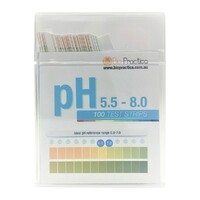 Bio-Practica pH 5.5 - 8.0 Test Strips 100 Tests
