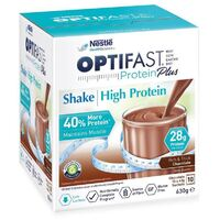 Optifast VLCD ProteinPlus Chocolate Shake 10 Sachets x 63g