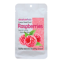 AbsoluteFruitz Freeze-Dried Whole Raspberries 15g