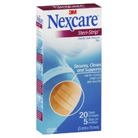 Nexcare Steri-Strip Skin Closure 20 Envelopes