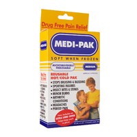 Medi-Pak Reusable Hot/Cold Pak Medium | Includes Extra Long Cover