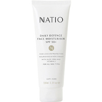 Natio Daily Defence Face Moisturiser SPF 50+ 100mL