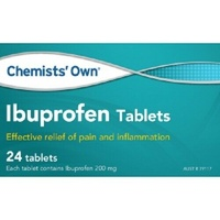 Chemists' Own Ibuprofen 200mg 24 Tablets