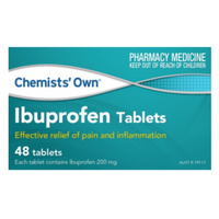 Chemists' Own Ibuprofen 200mg 48 Tablets