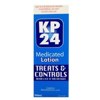 KP24 Medicated Head Lice Lotion 100mL