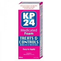 KP24 Medicated Foam 100mL | Head Lice Foam
