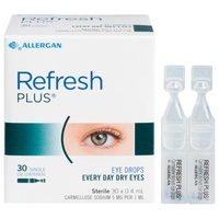 Refresh Plus Eye Drops 0.4mL x 30