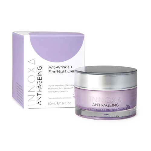 Innoxa Anti-Ageing Anti Wrinkle + Firm Night Cream 50mL